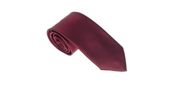 Luxusná pánska vínová kravata Castellet Barcelona