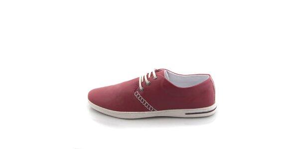 Pánske červené topánky Tommy Petersen