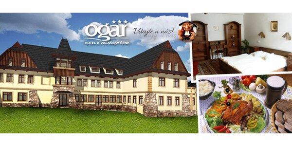 Valašský Hotel OGAR*** Luhačovice - oáza oddychu