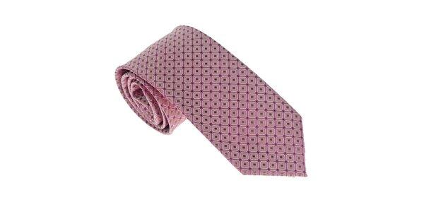 Luxusná svetlo fialová kravata Castellet Barcelona