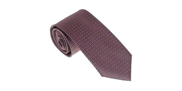 Luxusná fialová kravata Castellet Barcelona