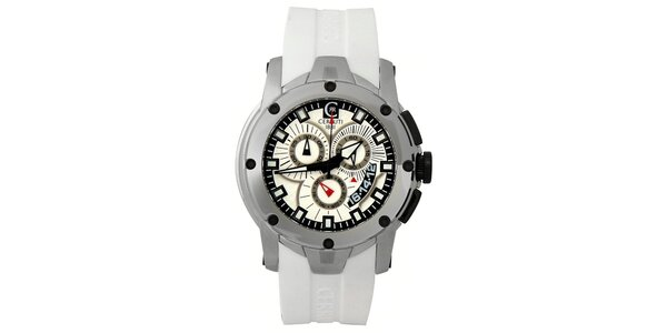 Pánske analogové hodinky s masívnym ciferníkom Cerruti 1881 6b3830685a4