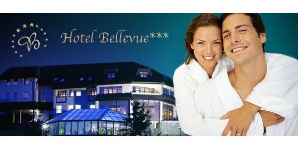 103 eur za 3-dňový wellness pobyt pre DVOCH v hoteli BELLEVUE*** pri Bardejove
