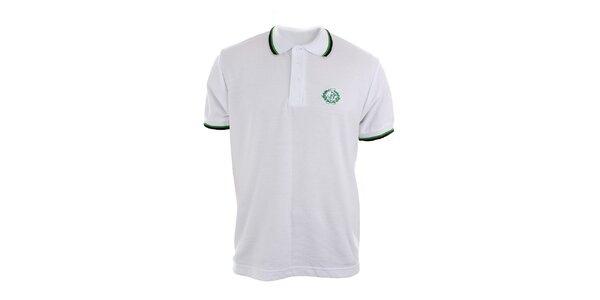 Pánske biele polo tričko Polo Club