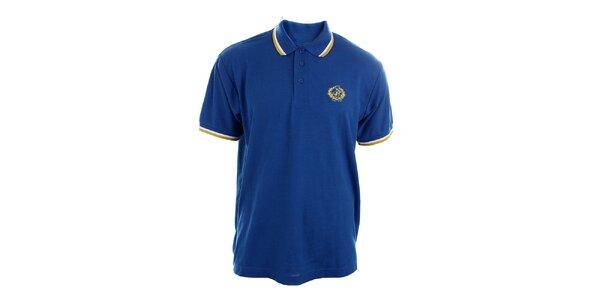 Pánske blankytno modré polo tričko Polo Club
