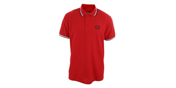 Pánske červené polo tričko Polo Club