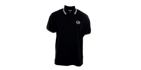Pánske čierne polo tričko Polo Club