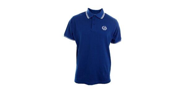 Pánske modré polo tričko Polo Club