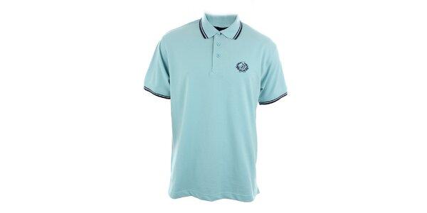 Pánske bledomodré polo tričko Polo Club