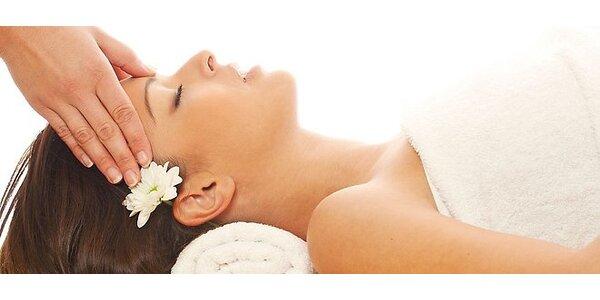 Hĺbkové čistenie pleti s 20 minútovou masážou tváre