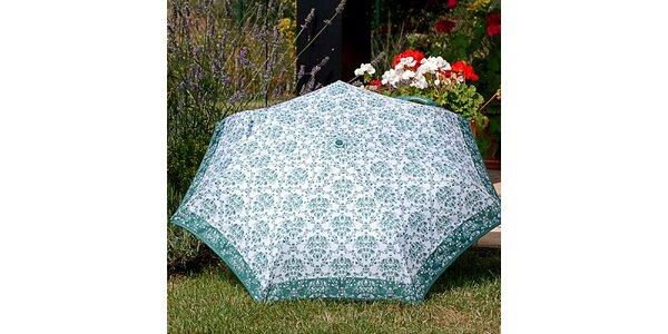 Dámsky dáždnik so vzorom Alvarez Romanelli zelený