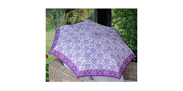 Dámsky dáždnik so vzorom Alvarez Romanelli fialový