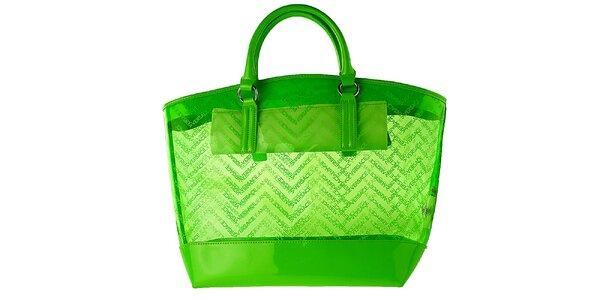 Dámska zelená kabelka Versace Jeans