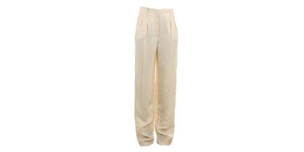 Dámske béžové nohavice Max Mara