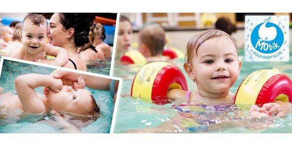 Kurz plávania detí a bábätiek