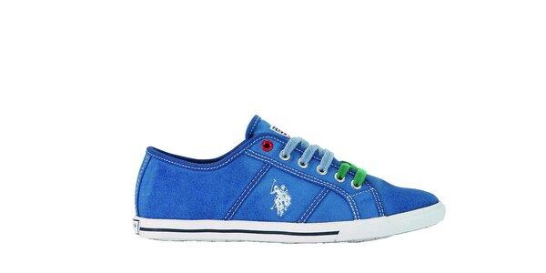 Dámske modré tenisky U.S. Polo