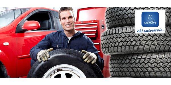 Výmena letných pneumatík za zimné