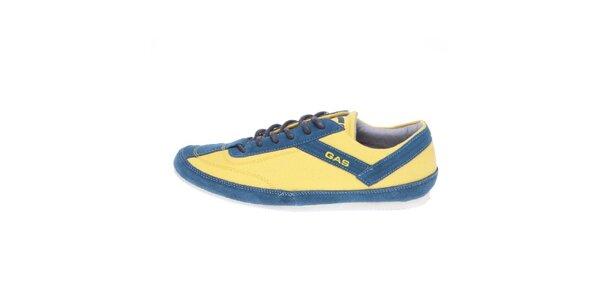Pánske žlto-modré tenisky GAS