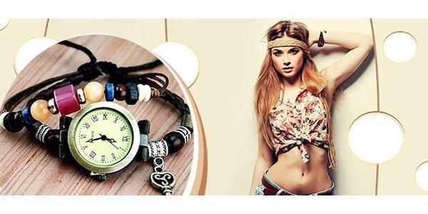 Dámske hodinky v štýle Vintage