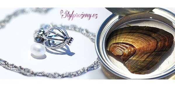 Perla prianí s náhrdelníkom vrátane poštovného