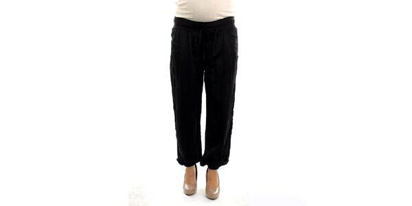Dámske čierne tehotenské nohavice Next Maternity