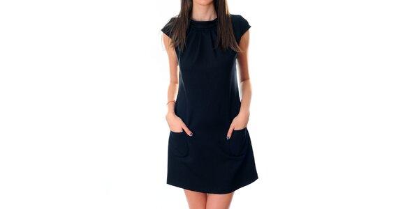 Dámske čierne šaty Ribelli