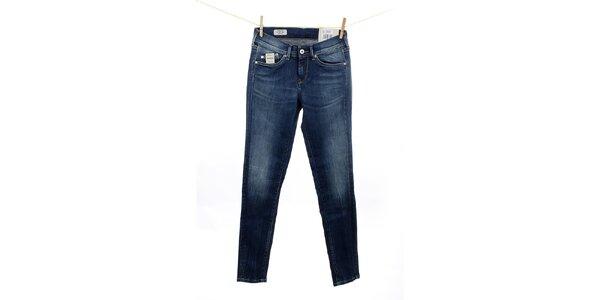 Dámske modré skinny fit džínsy Pepe Jeans