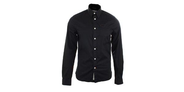 Pánska čierna košeľa Pepe Jeans