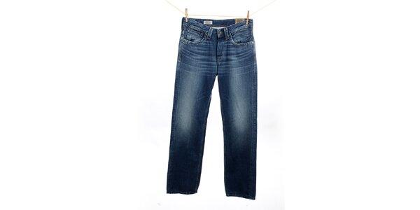 Pánske rovno strihané modré džínsy Pepe Jeans