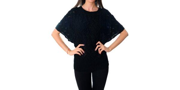 Dámsky čierny sveter Ribelli