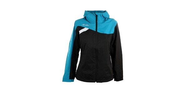 Dámska modro-čierna bunda Loap