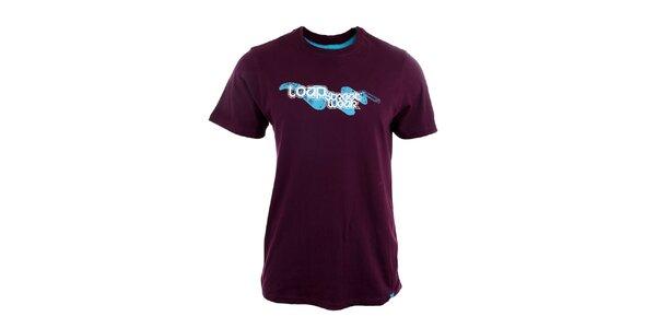 Pánske fialové tričko Loap