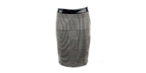 Dámska čierno-biela sukňa Phard