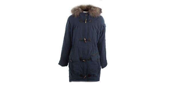 Dámsky modrý kabát Vila