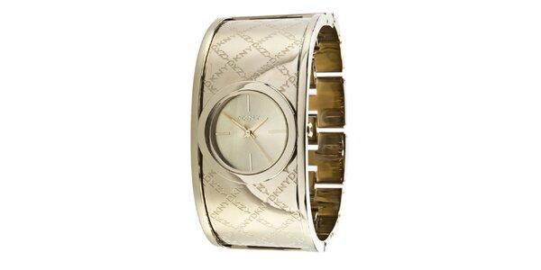 Dámske náramkové hodinky s logom DKNY