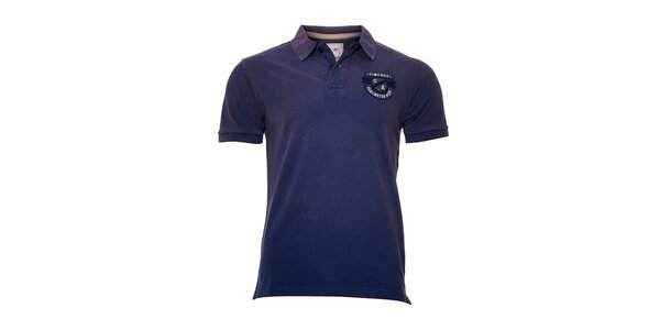 Pánske polo tričko Timeout v modrofialovej farbe