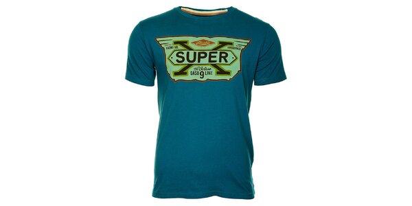 Pánske svetlo modré tričko Timeout