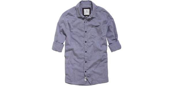 Pánska modrá vintage košeľa Timeout