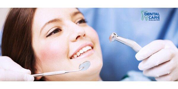 Preventívna a vstupná zubná prehliadka