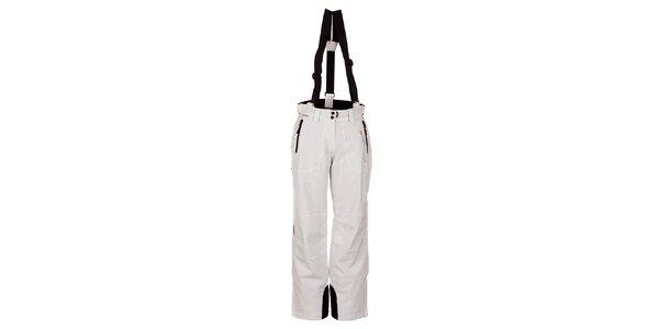 Dámske biele funkčné lyžiarske nohavice Trimm Elli