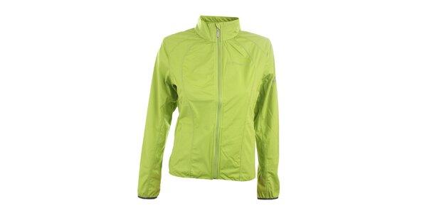 Dámska zelená softshellová bunda Trimm