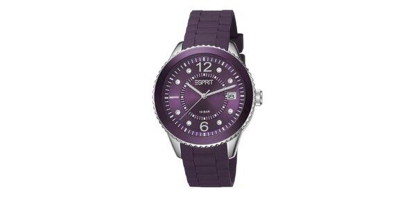 Dámske fialové hodinky Esprit