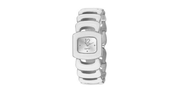 Dámske náramkové hodinky Esprit v striebornej farbe