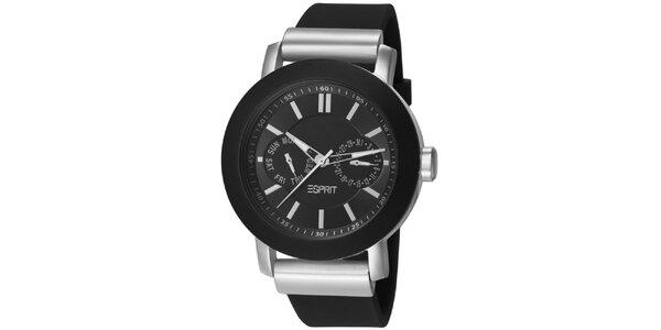 Dámske čierne analogové hodinky Esprit