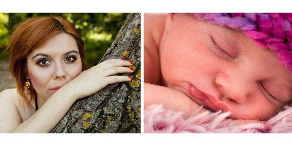 Fotografovanie portrétov, glamour a párov alebo fotografovanie novorodencov,…