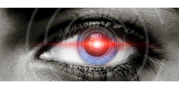 649 eur za laserovú refrakčnú operáciu oboch očí excimerovým laserom
