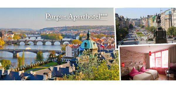 Aparthotel PurPur*** pre dvoch v Prahe