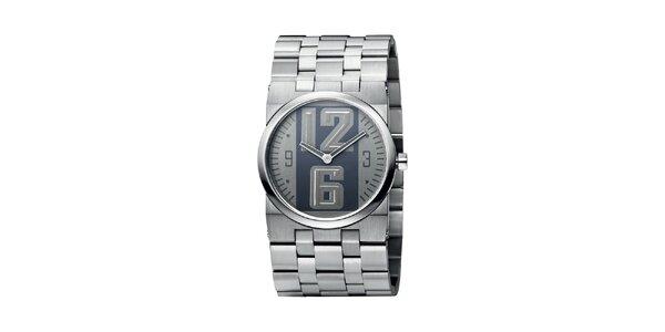 Pánske strieborné hodinky z ušľachtilej nerez ocele Bruno Banani