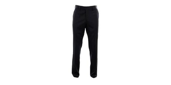 Pánske čierne oblekové nohavice Pietro Filipi