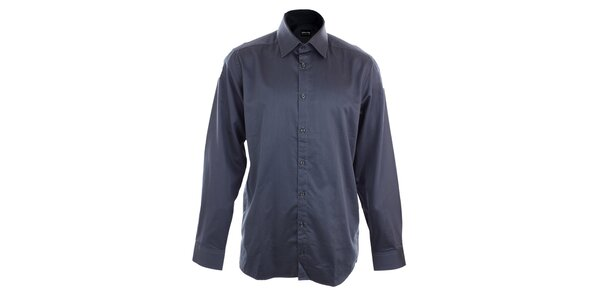 Pánska tmavo modrá obleková košeľa Pietro Filipi